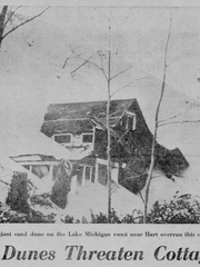 The Dec. 28, 1968 edition of the Detroit Free Press included a story about the Silver Lake State Park sand dunes destroying cottages similar to problems property owners face today.