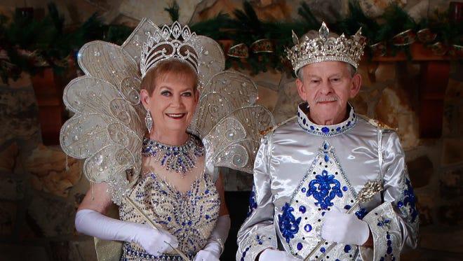 King Elk LI is Ed Shaw of Laurel, and Queen Elk LI is Lou Aultman Murphy of Petal.