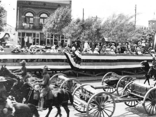 El Paso's Preparedness Parade passes the reviewing