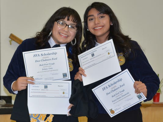 FFA scholarships - Corona