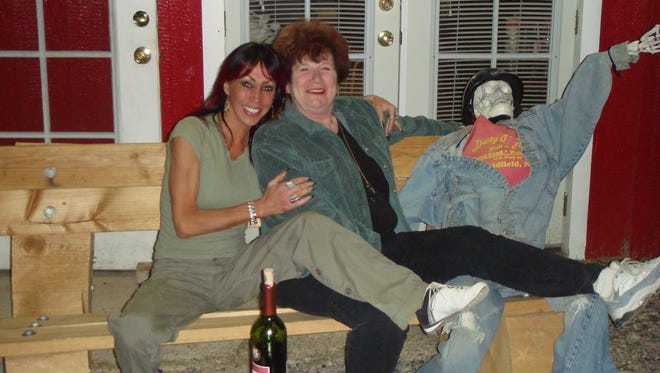 A submitted photo of Debra Constantino and Janice Oberding taken by Mark Constantino.