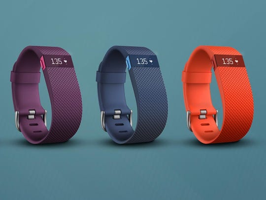 The Fitbit Charge HR costs $150 and adds a heart rate monitor to the mix.