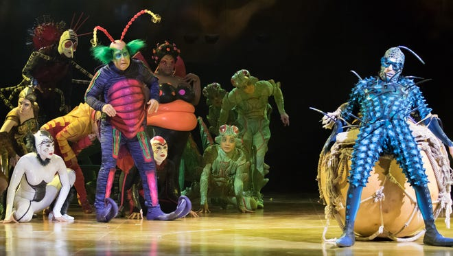 """Cirque du Soleil's """"OVO"""" tells the story of The Foreigner, a fly from the big city who brings a mysterious egg with him to a new and magical ecosystem filled with other insects."""