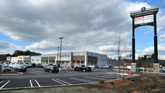Power issues delayed the opening Wednesday of Stop & Shop at Milford Crossing.