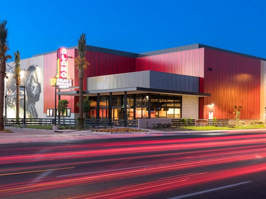 The exterior of Alamo Drafthouse Cinena in Tempe.