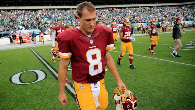 Quarterback Kirk Cousins of the Washington Redskins.