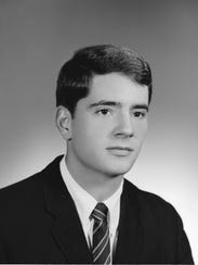 Steve Sanger from his college days in 1967 at DePauw
