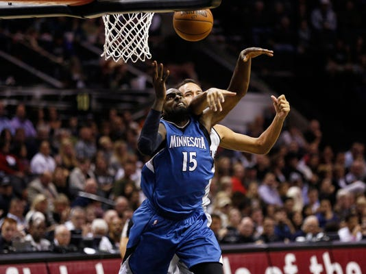 NBA: Minnesota Timberwolves at San Antonio Spurs