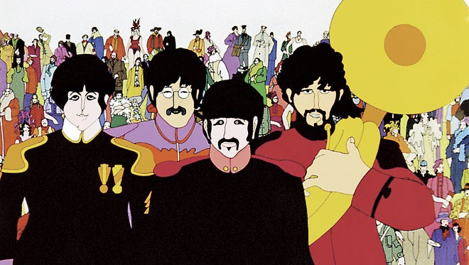 """Malco Paradiso Cinema in Memphis will show a 50th anniversary edition of the 1968 animated classic """"Yellow Submarine"""" at 7 p.m. July 10."""