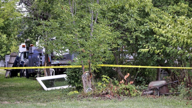 This area is where one of two bodies was found on Aug. 18, 2016 in Canandaigua.