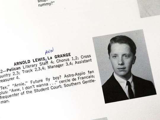 Arnold LaGrange's entry in the 1965 Pelham (N.Y.) Memorial