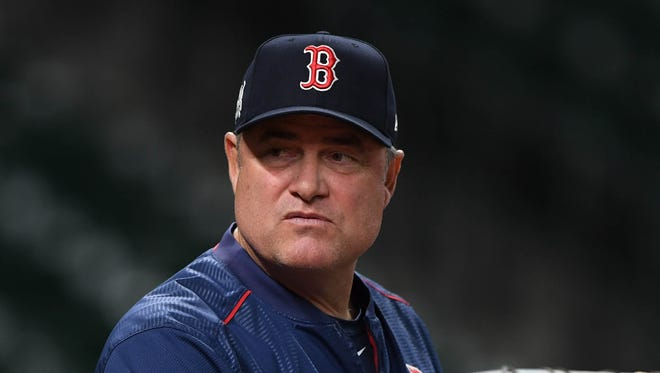 OUT: John Farrell, Red Sox
