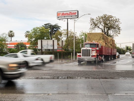 Cal Trans is considering the installation of traffic