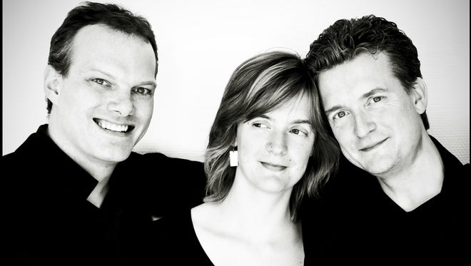 The Tetzlaff Trio features violinist Christian Tetzlaff, along with pianist Lars Vogt and cellist Tanja Tetzlaff, Christian's sister.