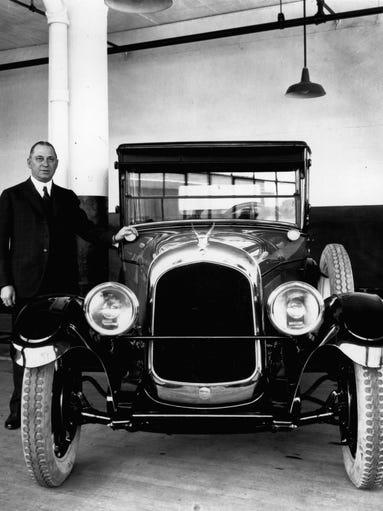 Walter P. Chrysler joined the Maxwell Motors Company