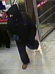 This is surveillance footage of the Family Dollar thief.