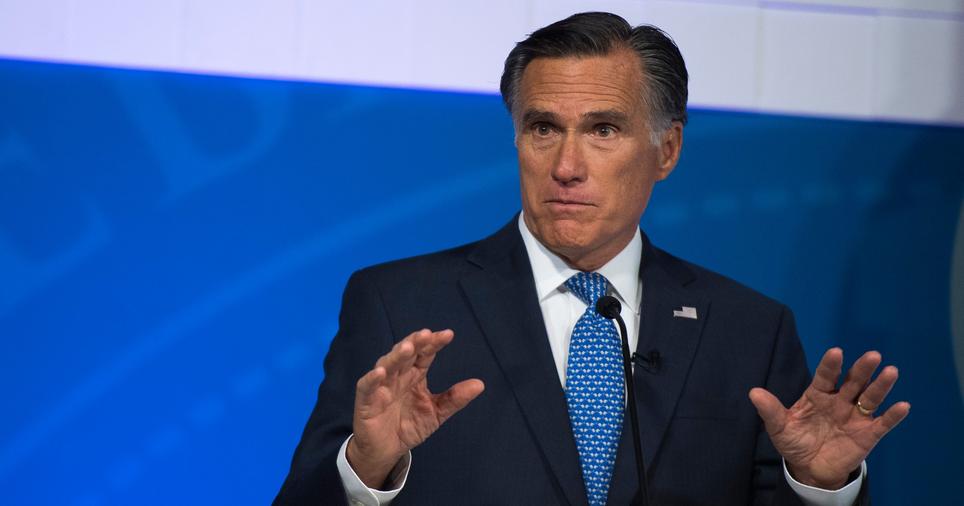 Romney Addresses Trump, China And Immigration At Town Hall
