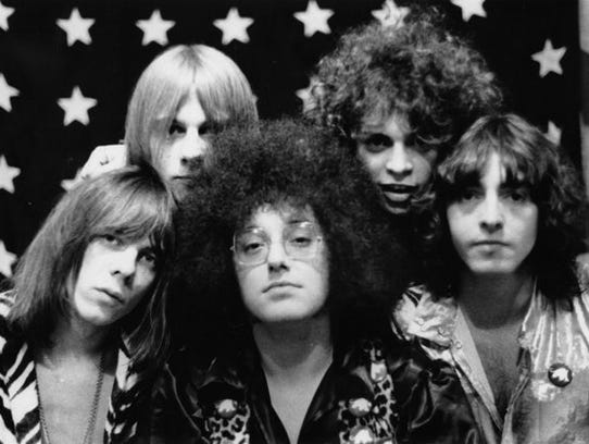 Wayne Kramer (second from right) and the MC5.