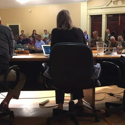 Burlington CIty Councilors listen to public comment