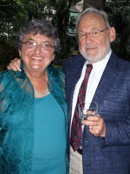 Judith Ann Hiller and her husband Al Goldberg.