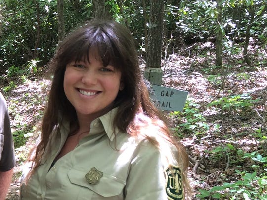 Lisa Jennings, natural resource specialist with the