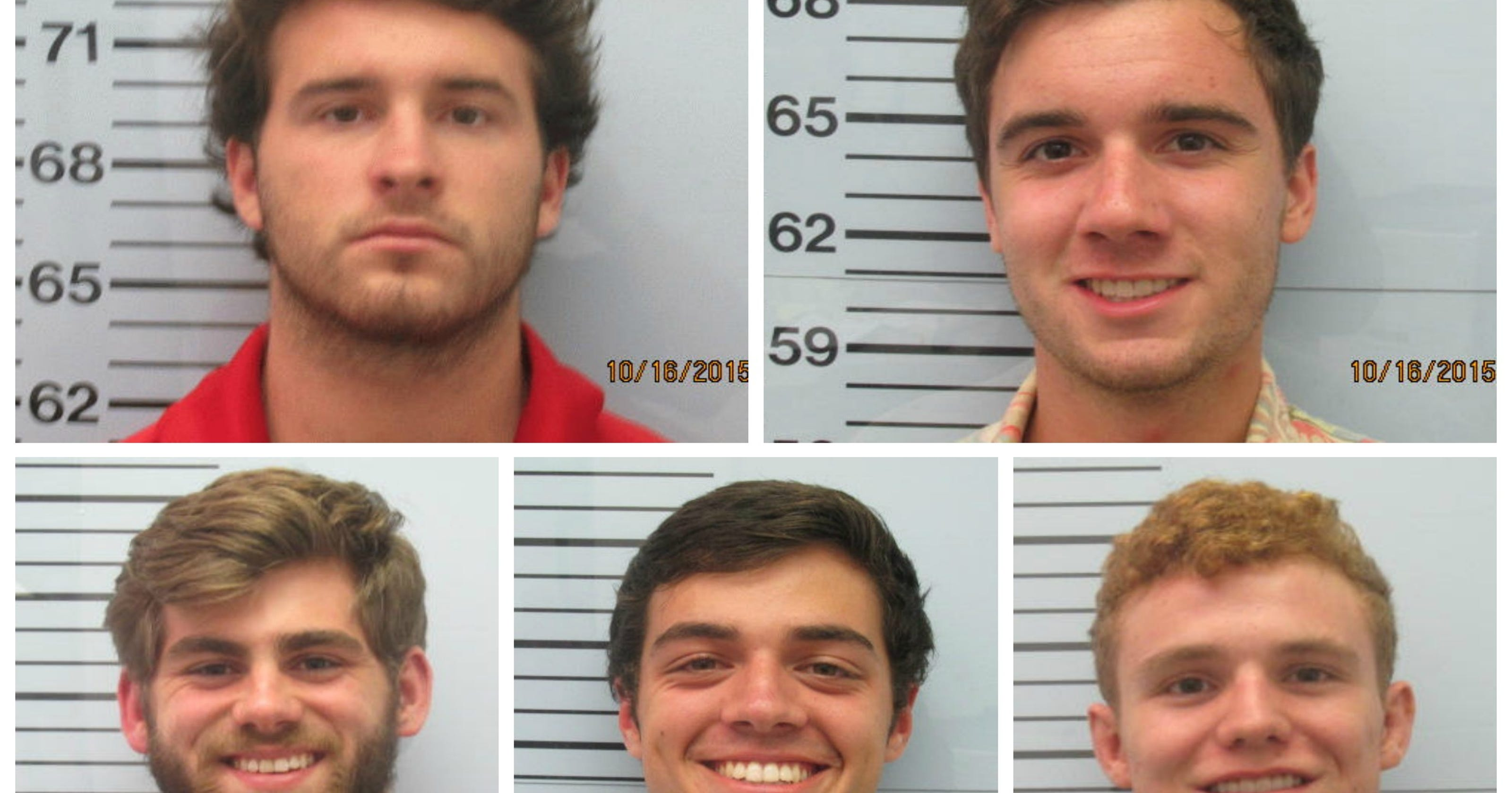 5 arrested in assault at Ole Miss fraternity house