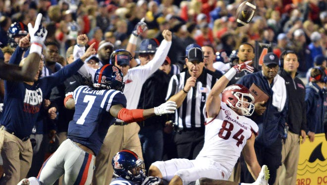 Arkansas tight end Hunter Henry's lateral changed the course of the SEC title race in 2015.