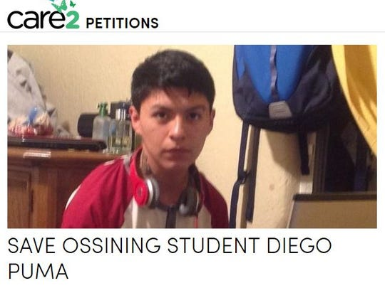 Online petition in support of  Diego Ismael Puma Macancela,