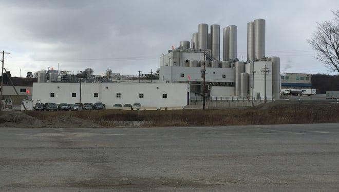 The Chobani plant near New Berlin.