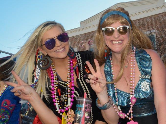 Pensacola Grand Mardi Gras Parade rolls in downtown