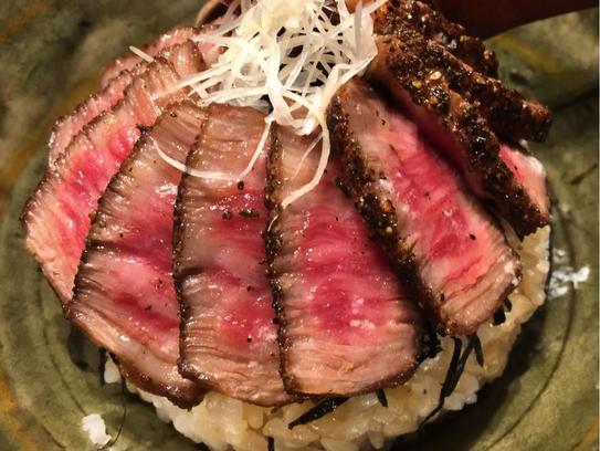 Matsusaka beef from Zen Asian BBQ in North Naples.