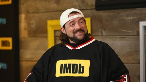 Kevin Smith prior to his recent weight loss in January.