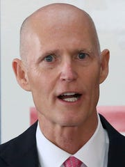 "Gov. Rick Scott has said he ""will look at what's good for the state"" in regards to the budget."