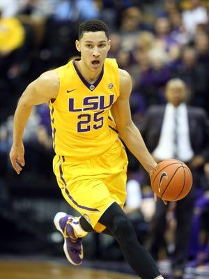 LSU freshman star Ben Simmons.