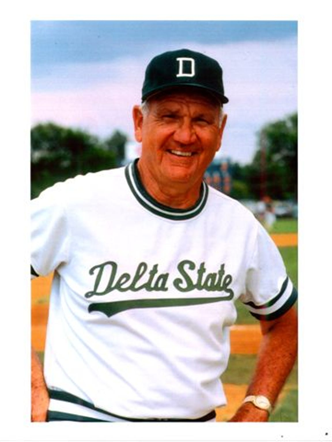 Boo Ferris during his Delta State coaching days.