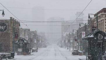 No snow in Memphis for MLK Day, but 1-2 inches coming Monday night