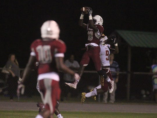 Madison County beat Florida High 49-6 on Thursday night,