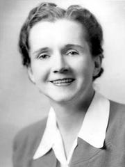 """Rachel Carson, writer of """"Silent Spring,"""" is pictured in this undated photo."""