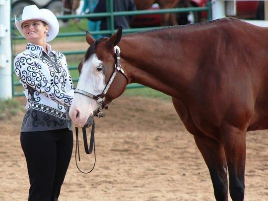 Lakeland's Abbi Hill won her third straight MIHA Western