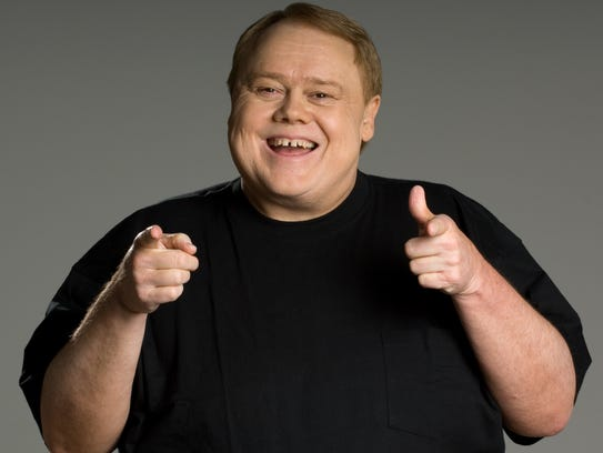 Comedian Louie Anderson is appearing today through