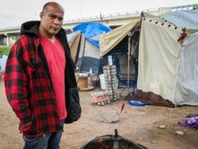 Homeless couple say goodbye to tent city they helped lead