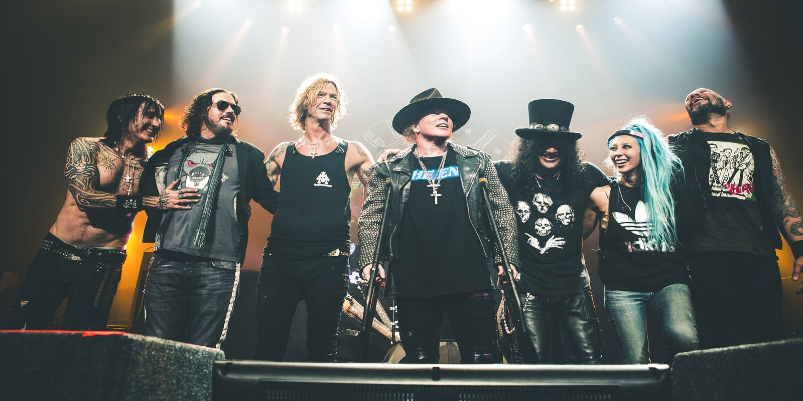 Guns N' Roses tour with Slash and Duff McKagan to play Phoenix as work continues on new LP