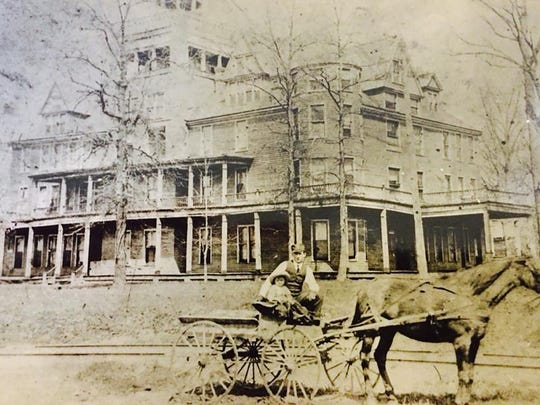 In the 1890s, Lake View Hotel offered guests 70 rooms