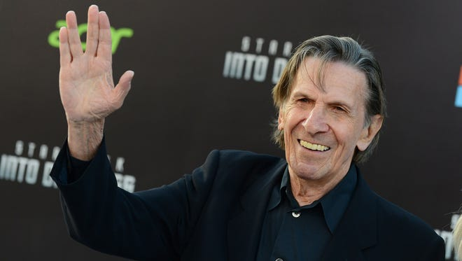 Leonard Nimoy in May 2013.