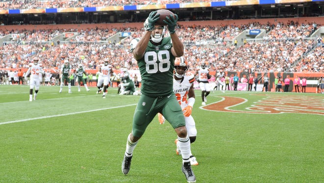 Jets tight end Austin Seferian-Jenkins has three touchdown receptions in his last four games.