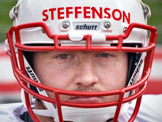 St. John's University backup punter Andrew Steffenson