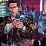 """Futuristic gumshoes and old-school femme fatales are a part of the genre-melding series """"Red City."""""""