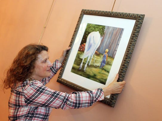 Nashville artist, Lisa Whitten began taking watercolor