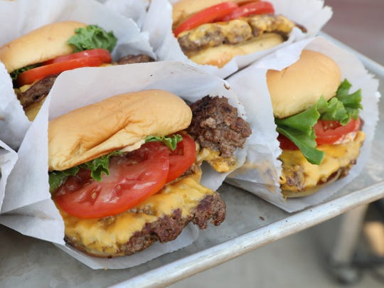 Cheeseburger from Shake Shack, during Westchester Magazine's
