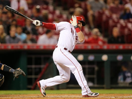 barnhart personals Reds catcher tucker barnhart is hitting 368 in his first 11 games in the month of may, which ranks sixth in the national league.